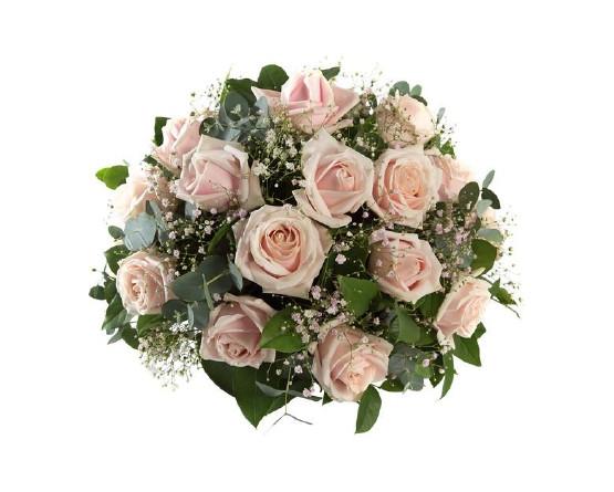 Zacht roze