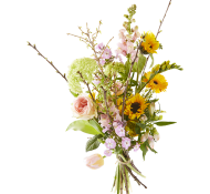 Blij met bloemen